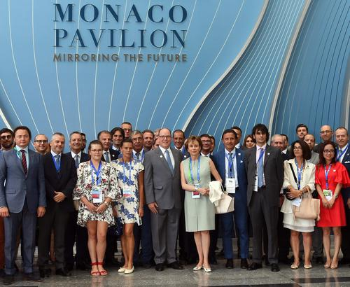 Astana EXPO 2017 - Journée nationale de Monaco